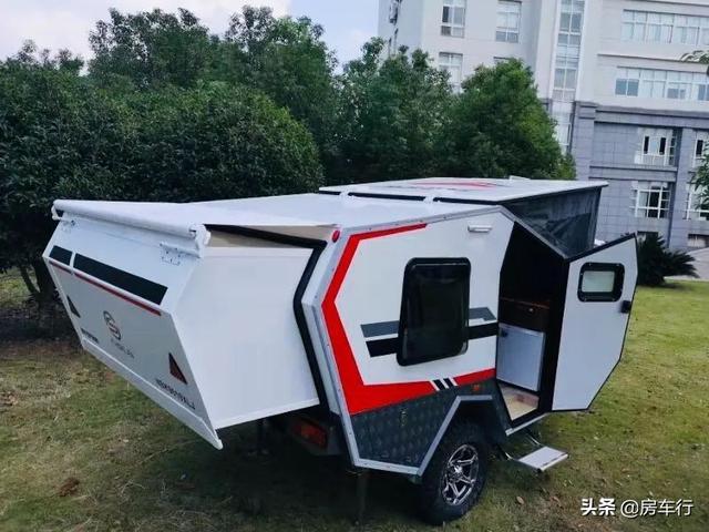 11.15上海房车展:耐克萨斯越野小拖挂房车,超全功能可上牌上路-3.jpg