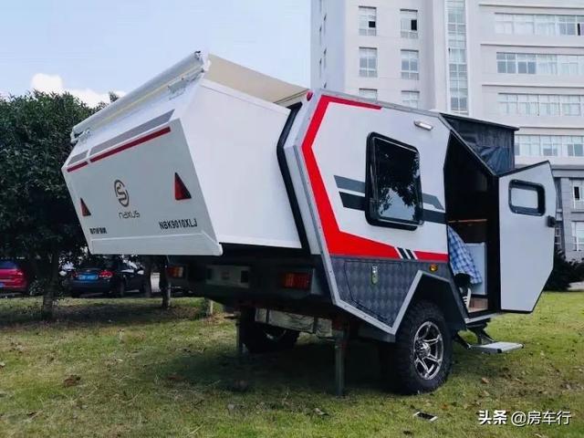 11.15上海房车展:耐克萨斯越野小拖挂房车,超全功能可上牌上路-4.jpg